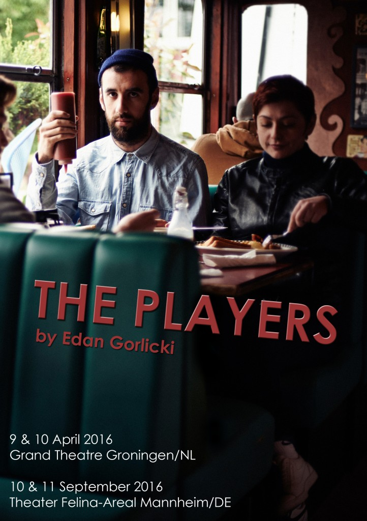 Flyer Front 'The Players'